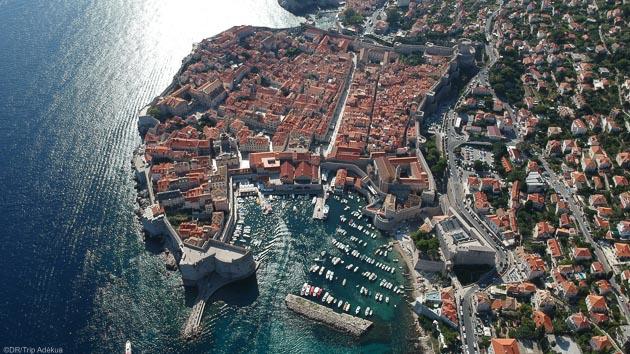 Au programme de votre croisière voile en Croatie : la visite de Dubrovnik