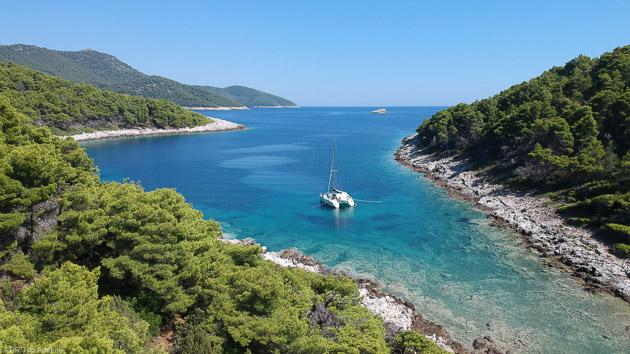 Une croisière de rêve en catamaran à la découverte de la Croatie