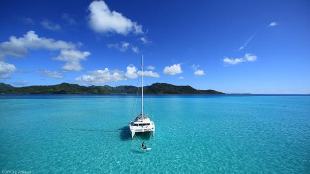 Naviguez dans les plus beaux atolls de Polynésie pendant votre croisière