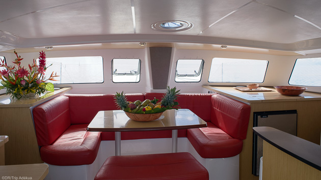 Votre catamaran privatisée pour 2 personnes à Tahiti