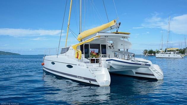 Votre croisière privative pour 2 personnes, des vacances inoubliables en Polynésie