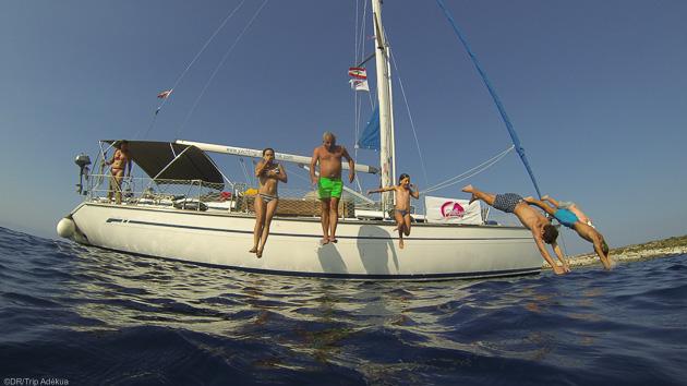 Votre voilier tout confort avec skipper pour une croisière de rêve en mer Adriatique