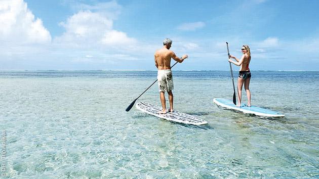 Sup, kitesurf, snorkeling pendant votre croisière aux Grenadines