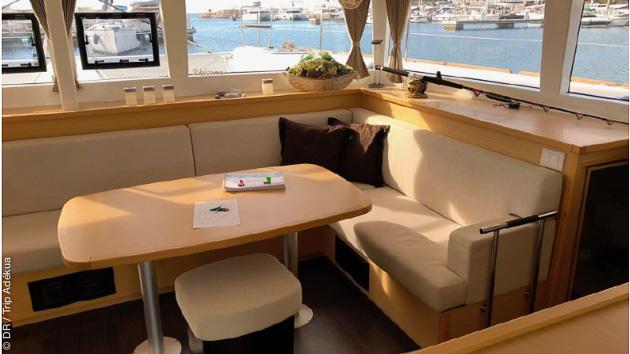 Votre catamaran tout confort avec skipper aux Caraïbes