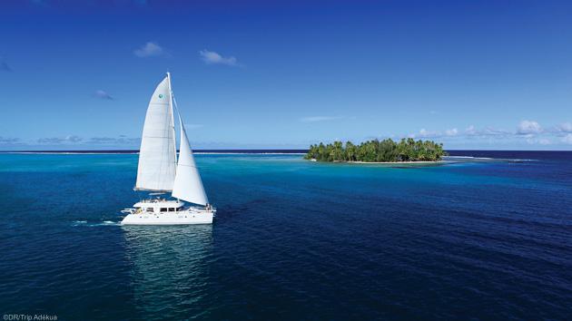 Une croisière en Polynésie à bord d'un catamaran tout confort