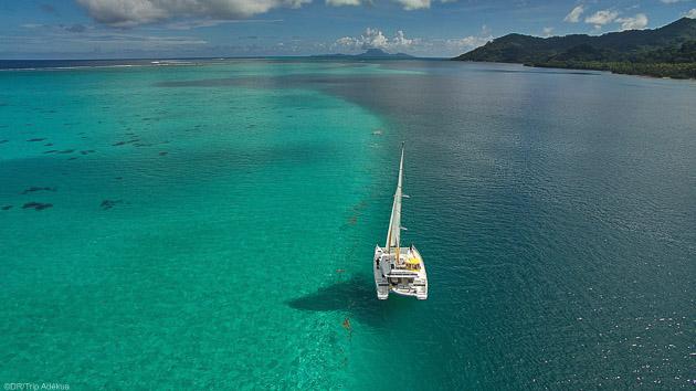 Savourez une croisière en catamaran tout confort à Tahiti