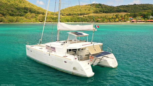 Votre croisière de rêve en catamaran entre la Martinique et Sainte Lucie