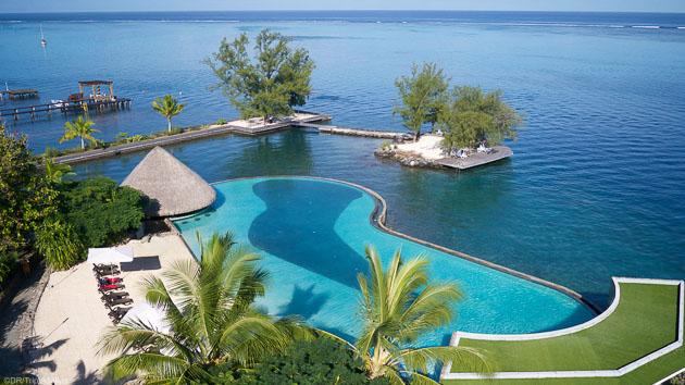 Hôtels tout confort et catamaran pour ce séjour mixte à Tahiti