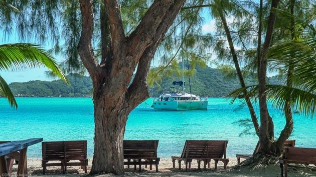 Votre catamaran grand luxe pour un séjour avec croisière en Polynésie