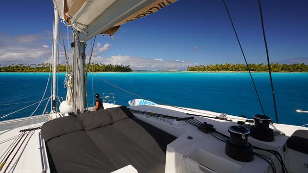 Savourez chaque minute sur votre catamaran grand luxe en Polynésie