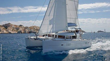 Votre séjour sur un catamaran de luxe pour découvrir les Cyclades en Grèce