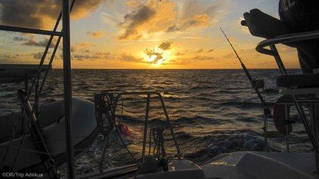 Savourez les couchers de soleil sur la mer Caraïbes pendant votre croisière