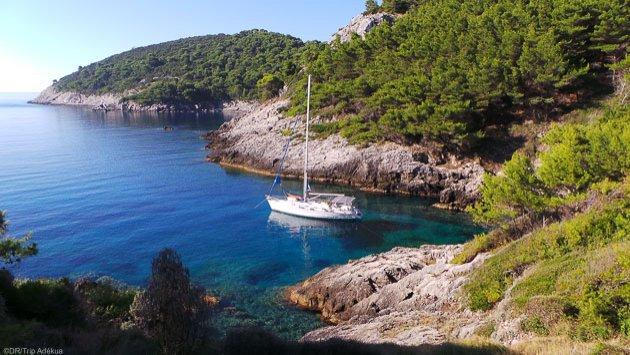 Découvrez les plus belles criques de Croatie pendant votre croisière en voilier